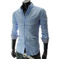 Camisa Casual Manga Longa