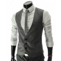Colete Masculino Slim Fashion